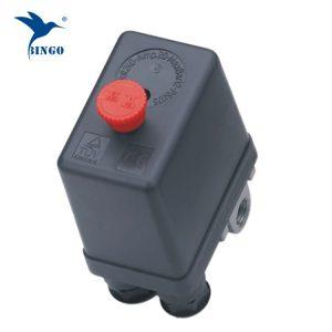 ヘビーデューティエアコンプレッサ圧力スイッチコントロールバルブ12 bar 4ポートエアコンプレッサースイッチコントロール