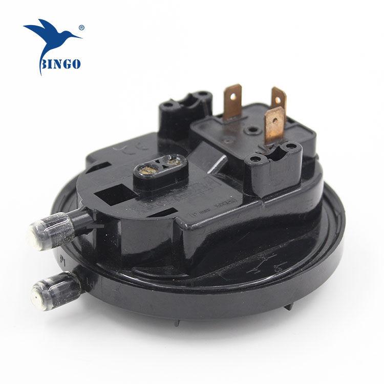 換気空調システム用低空気ガス差圧スイッチ